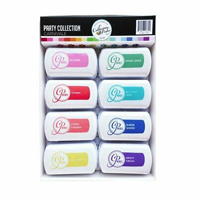 Catherine Pooler Mini Ink Pad Carnivale Collection  8pk