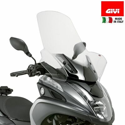 Windscreen GIVI 2120DT & Brackets D2120KIT MBK Tryptik 125 (14 > 17)