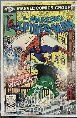 Amazing Spider-Man 212 1St App & Origin Hydro Man Far From Home Movie Nice Copy!