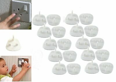 96 Child Safety UK Plug Socket Covers Mains Electrical Protector Inserts Guard