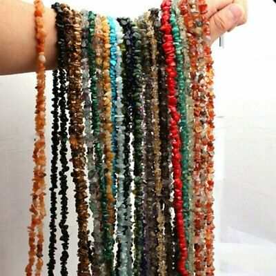 Freeform Natural Gemstone Chips Beads For DIY Jewelry Accessories Wholesale Gift