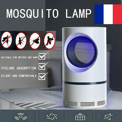USB Safe Photocatalytic Mosquito Killer Lamp LED Light Non-Toxic UV Insect Trap