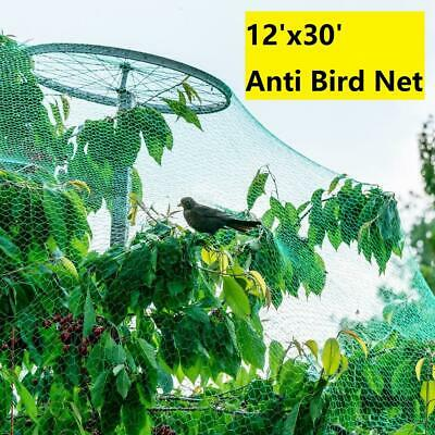 4M*10M Anti Bird Net Garden Crop Veg Netting Protection Plants Ponds Fruit Mesh