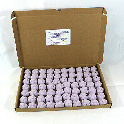 Bath Bombs Lavender scented 70 x 10g Flowers less mess reduced plastic