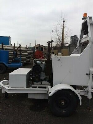 USED Sewer Cleaning winch system