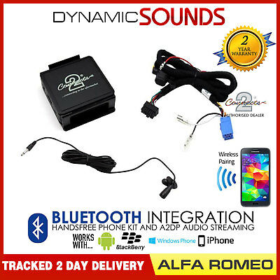 Alfa Romeo 156 2000-2007 Car Bluetooth Streaming AUX In Handsfree CTAARBT001