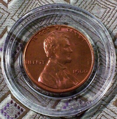1960-P Small Date Lincoln Memorial Unc. Red Cent ( 1 Coin ) ( Itm#8835 )