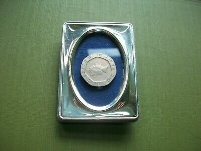 Sterling Silver 925 Square Picture/Photo Frame.