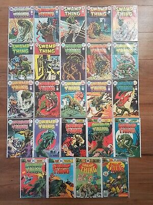 Swamp Thing #1 - 24 complete set - DC Comics 1972-  Berni Wrightson