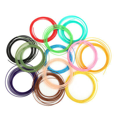 3D Printer Filament ABS 1.75mm 1KG Spool Filament 2.2LBS - 5M 12 Colors DIY