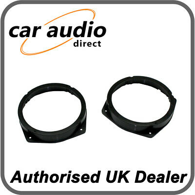 Connects2 CT25FT04 Fiat Idea 2003> 2012 Front And Rear Door 16.5cm Adapters