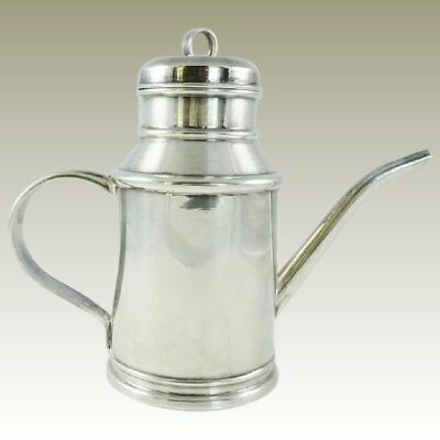 Sterling Silver Oil Jug Or Pitcher 9.5 Troy Ounces