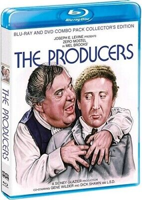 THE PRODUCERS New Blu-ray + DVD Collector's Edition 1968 Gene Wilder Mel Brooks