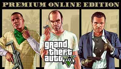 Grand Theft Auto V 5 (GTA 5): Premium Online Edition PC KEY