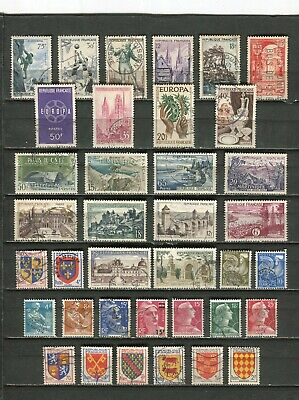 FRANCE - Lot de timbres oblitérés