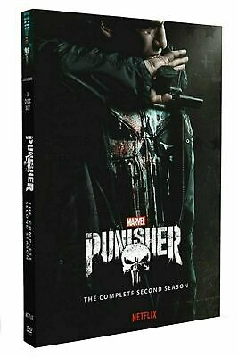 Marvel The Punisher Season/Series 2 DVD Box Set Complete Second TV Collection BN