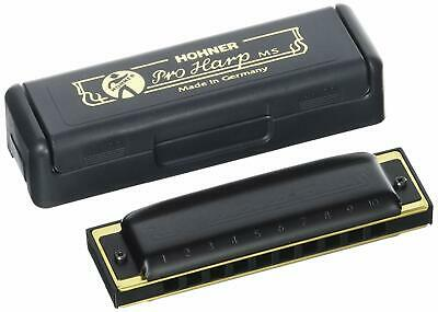 1/2 PRICE SALE $25 OFF Hohner Pro Harp MS Series Harmonica in F# Normally $49.95