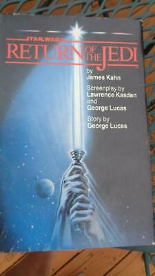 Return of the Jedi by James Kahn 1983 Star Wars  Book 1st Ed Hard Cover