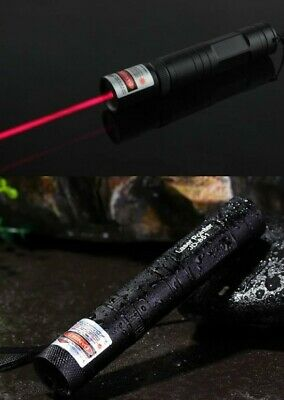Powerful Military 650nm 301 Red Laser Pointer Pen Burning Beam Charger   1mW