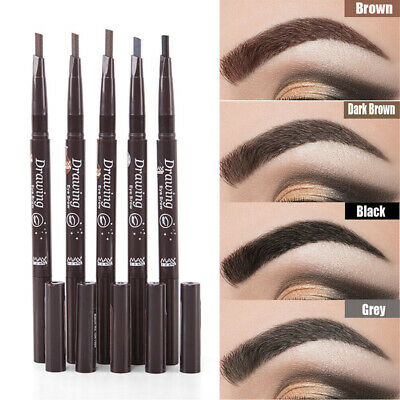 Waterproof Drawing Eye Brow Eyeliner Eyebrow Pen Pencil Brush Makeup Cosmetic