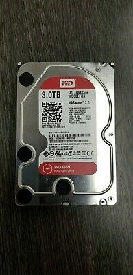 "Western Digital WD Red 3 TB Internal 5400 RPM 3.5"""" Hard Drive -WD30EFRX NAS (N…"