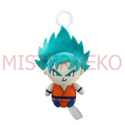 Mini Peluche Plush Doll - Dragonball Super - Son Goku Super Sayan 8cm