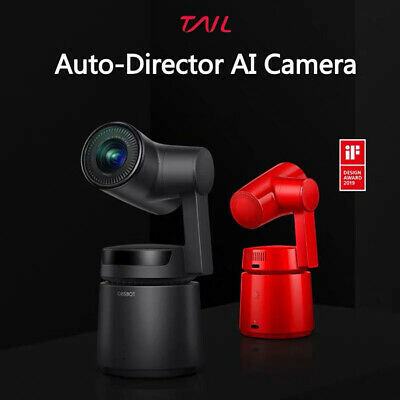 New OBSBOT Tail Gesture Control CMOS Zoom 4K 12MP 3-Axis Gimbal Action AI Camera