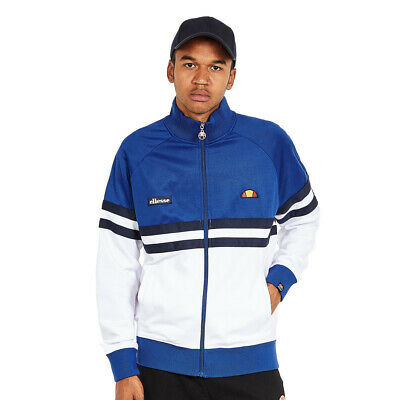 14603539611362 ellesse - Rimini Track Jacket Mazarine Blue / Optic White / Dress Blues