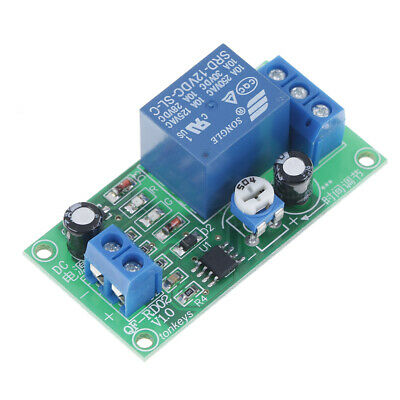 NE555 time delay relay dc 12v conduction FRigger timing delay relay module BGS