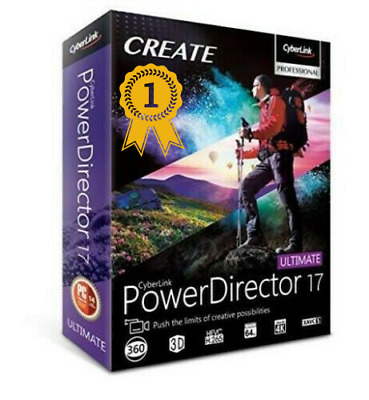 🔥🔥 CyberLink PowerDirector Ultimate 17 ✔ Full Version ✔ Low Price ✔ 🔥🔥