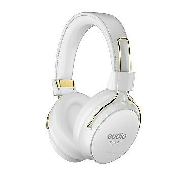 """Sudio """"Klar"""" Bluetooth Over-Ear Headphones, with noice cancelling, white"""