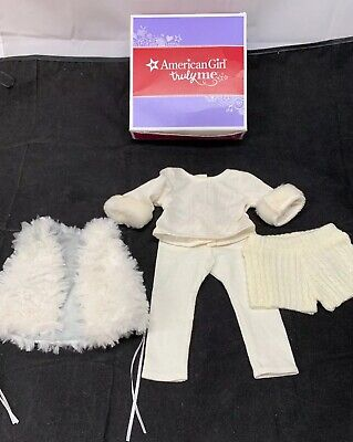 American Girl Winter White Outfit /& Charms BNIB