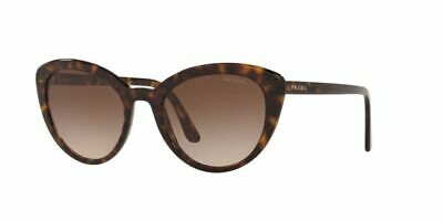 Prada 02Vs 02V/S 54 2Au6S1 Havana Brown Gradient Lenses Sunglasses Sole Occhiale