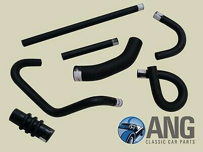 TRIUMPH SPITFIRE MkII, III & IV '64-'73 RADIATOR WATER COOLING RUBBER HOSE KIT