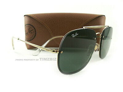 6cc9128d59 Ray-Ban Sunglasses RB3583N Blaze General Gold Green 9050/71 Authentic New
