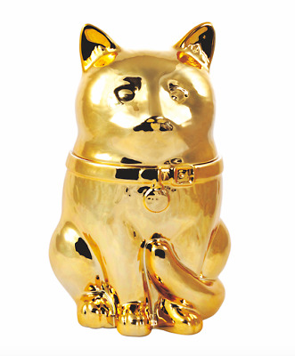Captain Marvel Goose The Cat GOLDEN Cookie Jar 2019 SDCC COMIC CON Exclusive