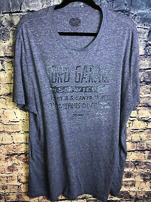 Ford Motor Company Mens Blue Vintage T-shirt Size 2XL