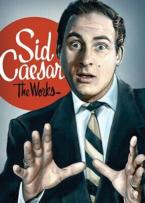SID CAESAR THE WORKS New Sealed 5 DVD Set 11 Hours