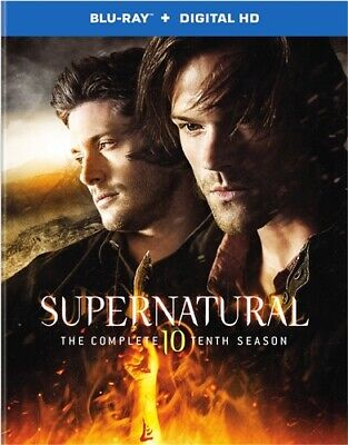 SUPERNATURAL THE COMPLETE TENTH SEASON 10 New Sealed Blu-ray