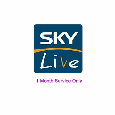 1 Month Skylive IPTV Subscription for Android TV box
