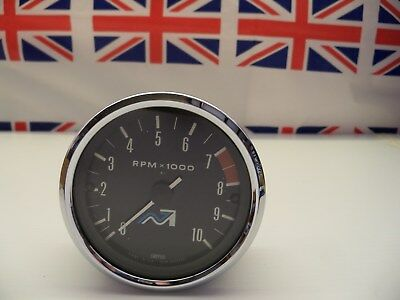 R34 -   Genuine Smiths Nvt Squiggle Rev Counter/Tacho Tachometer - Straight Off