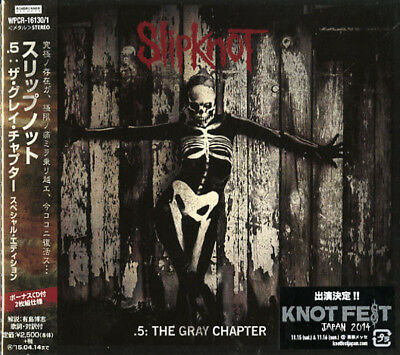 Slipknot-.5: The Grey Chapter 2Cd Special...-Japan 2 Digipak Cd Bonus Track F56