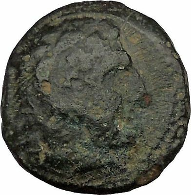 Alexander III the Great 336BC Ancient Greek Coin Hercules Bow Club i37077