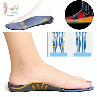 High Arch Supports Insoles For Flatfoot Cubitus Orthopedic Feet Cushion Pads fg