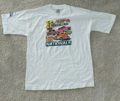 Rare VTG 1999 Australian car show shirt street machine nationals 2XL  dead stock