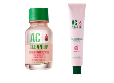 [ETUDE HOUSE] AC Clean Up Pink Powder Spot & Mask