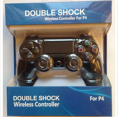 Official Sony Playstation 4 Dual Shock PS4 Wireless Controller - Black - PS4BLK