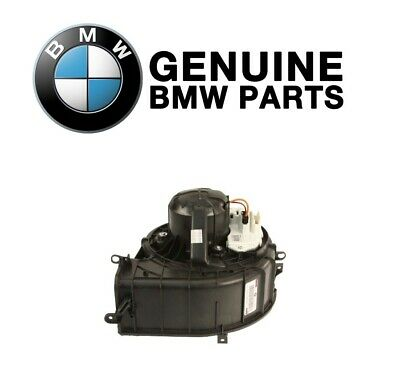 New Genuine HVAC Blower Motor Front 64116971108 for BMW X5 X6