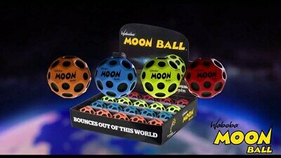 Waboba Moon Ball Extreme Bouncing Crazy Spinning Ball Red