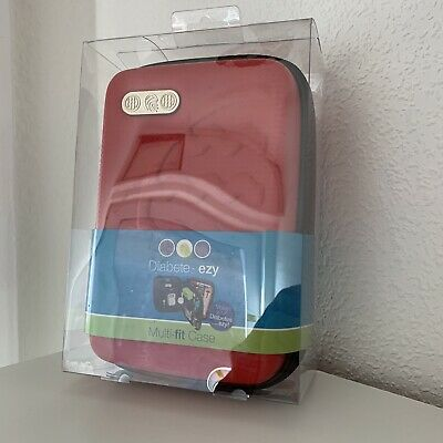 "Diabete-Ezy ""Multi-Fit"" Diabetic Carry Case New Red"